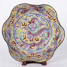 A Chinese Enameled Bowl
