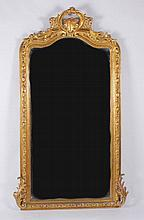 A French Baroque Style Mirror, Modern