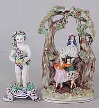 Two English Figurines, Staffordshire