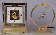 Two Shelf Clocks, LeCoultre Atmos and a Mystery Clock