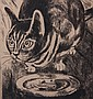 Peggy Bacon (AMERICAN, 1895-1987) Etching