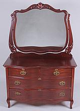 An American Mahogany Chest of Drawers Circa 1900