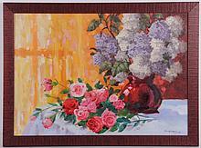 Paul Reinman (American, b.1910 ) Oil on Canvas