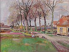 Ludvig Jacobsen (Danish, 1890 - 1957) Oil on Canvas