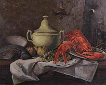 Oil on Canvas, 20th Century, Still Life