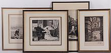 A Group of Prints Including Sidney Tushingham