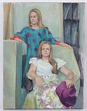 Libby Rudnick (American, 20th Century) Oil on Canvas