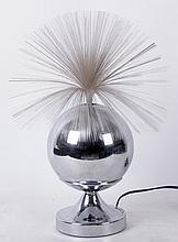 Vintage fiber optic lamp