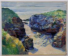 Charles Merrill Mount (1928 - 1995) Oil on Canvas