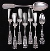 Estate Lot: Sterling and Coin Silver Flatware