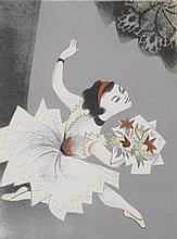William Gropper (American, 1897-1977) Color Lithograph