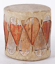 A Taos Native American Drum