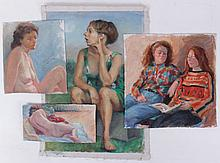 Libby Rudnick (American, 20th Century) Four Works