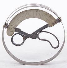 Scissor Type Ring Compass Hat Size Measuring Tool