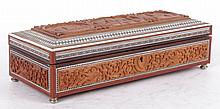 An Indian Sandalwood Box