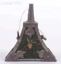 A 17th Century Match Lock Powder Flask