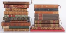 A Group of Early 20th Century Books, Many French Examples