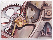 Lois Rapp (1907 - 1992) Watercolor