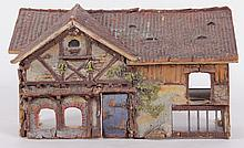 An English Cottage Form Doll House