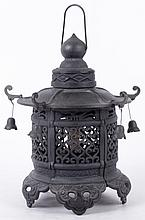 Japanese Style Cast Iron Lantern