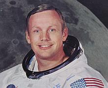 Neil Armstrong, Signed Photograph