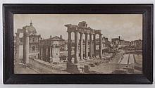 Domenico Anderson (1854-1939) Photograph, View of the Forum, Rome