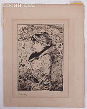 Edouard Manet (FRENCH, 1832-1883) Etching