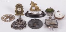 Estate Lot, A Group of Small Items Including Silver Objects