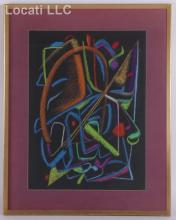 A 20th Century Pastel Signed