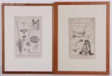 Two Framed Plates From Bernard Picart's