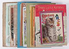 Twelve 20th Century Picture Books Regarding Cats