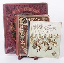 Three Late 19th Century Books Regarding Cats Including