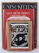 Three Volumes Regarding Cats Including A Porfolio of Illustrations by Clare Turlay Newberry