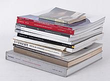 A Group of Books and Catalogs Regarding Asian Art