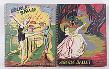 Two 1942 Aberle Ballet Catalogs