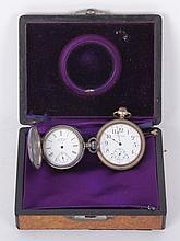 Two American Pocket Watches, Late 19th Century