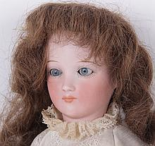 A Cuno & Otto Dressel Bisque Head Doll