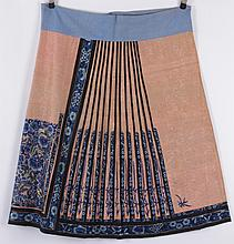 Chinese Silk Embroidered Skirt