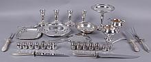 Estate Lot: Group of Sterling Flatware and Hollowware
