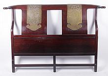 A Chinese Rosewood Headboard, 20th Century