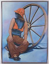 Joe Sambataro (American, 20th Century) Oil on Canvas
