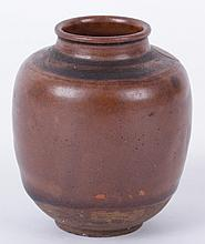 An 18th Century Japanese Pottery Jar
