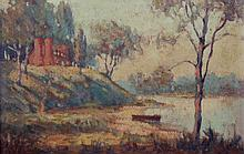 A Small Impressionist Work, Early 20th Century, Oil on Board