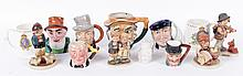 Estate Lot: Toby Mugs, Hummel Figures, Coronation Mugs