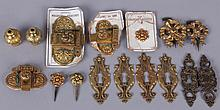 A Group of French Ormolu Hardware Circa 1880