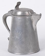 A Swedish Pewter Tankard Circa 1830