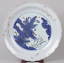 An 18th Century Japanese Blue and White Bowl