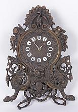 A Renaissance Revival Shelf Clock