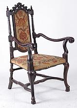 An 18th Century Dutch Armchair