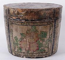 A 19th Century Painted Mongolian Box